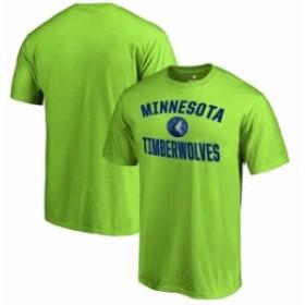 Fanatics Branded ファナティクス ブランド スポーツ用品  Fanatics Branded Minnesota Timberwolves Neon Green Victo