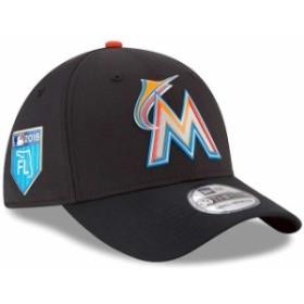 New Era ニュー エラ スポーツ用品  New Era Miami Marlins Black 2018 Spring Training Collection Prolight 39THIRTY Flex