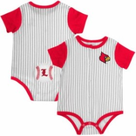 Colosseum コロセウム スポーツ用品  Colosseum Louisville Cardinals Infant White/Red Sultan of Swat Baseball Bodysuit