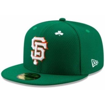 New Era ニュー エラ 服 New Era San Francisco Giants Kelly Green 2019 St. Patricks Day On-Field 59FIFTY Fitted Hat