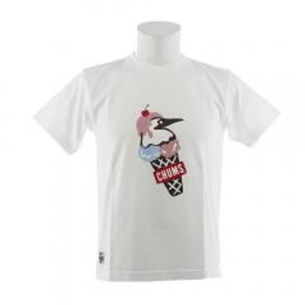 チャムス(CHUMS) 【ゼビオ限定】 ダブルアイスクリーム Tシャツ CH01-1466-W001(Men's)