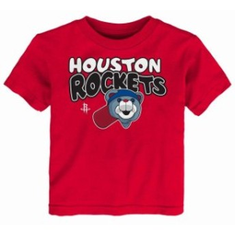 Outerstuff アウタースタッフ スポーツ用品 Houston Rockets Preschool & Toddler Red Bubble Letter T-Shirt