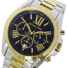マイケルコース MICHAEL KORS ブラッドショウ クオーツ クロノ レディース 腕時計 MK5976 ダークブルー ダークブルー
