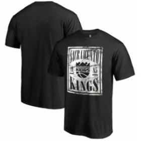 Fanatics Branded ファナティクス ブランド スポーツ用品  Fanatics Branded Sacramento Kings Black Court Vision T-S