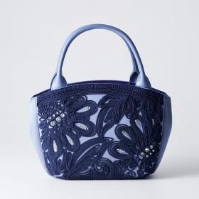 岩佐 イワサ コード刺繍 フォーマルハンドバッグ