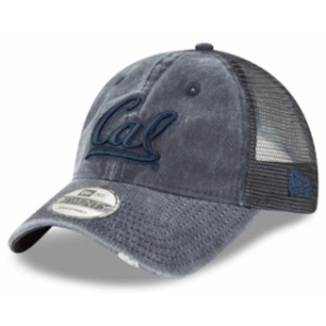 New Era ニュー エラ スポーツ用品  New Era Cal Bears Navy Tonal Washed Trucker 9TWENTY Adjustable Snapback Hat