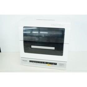 【中古】Panasonicパナソニック 食器洗い乾燥機 NP-TR7 ECONAVIエコナビ 搭載