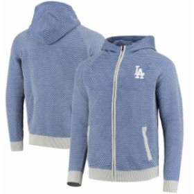 Forever Collectibles フォーエバー コレクティブル スポーツ用品  Los Angeles Dodgers Royal Knit Full-Zip Hoodie