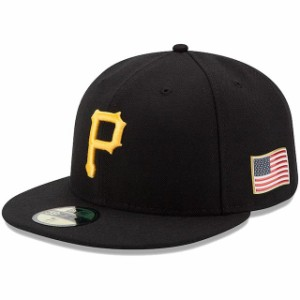 服 エラ New Era Pittsburgh Pirates Black MLB 150th Anniversary Authentic Collection 59FIFTY Fitted Hat New Era ニュー