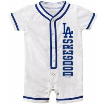 Outerstuff アウタースタッフ スポーツ用品 Los Angeles Dodgers Newborn White Game Ready Coverall Romper