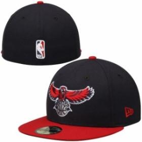 New Era ニュー エラ スポーツ用品  New Era Atlanta Hawks Navy 59FIFTY GCP Fitted Hat -