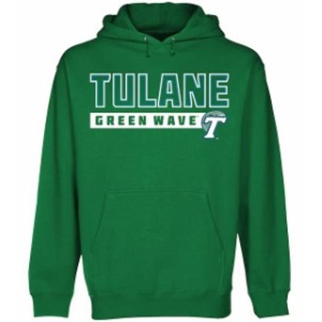 Fanatics Branded ファナティクス ブランド スポーツ用品  Tulane Green Wave Kelly Green Centurion Hoodie