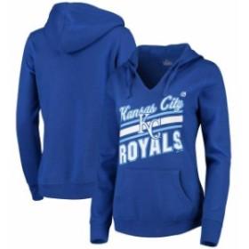Majestic マジェスティック スポーツ用品  Majestic Kansas City Royals Womens Royal Prime Example Pullover Hoodie