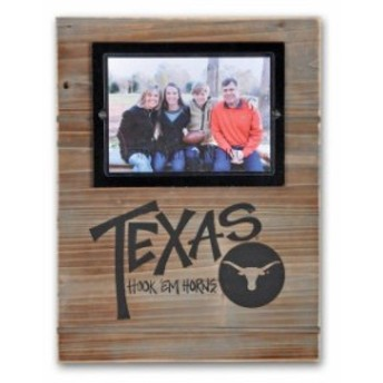 Magnolia Lane マグノリア レーン スポーツ用品 Texas Longhorns 11 x 14.5 Wood Frame