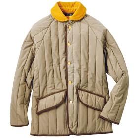 45%OFF【メンズ】 中綿ジャケット(エアコンダウン) - セシール ■カラー:ベージュ系 ■サイズ:LL,5L,M,L,3L