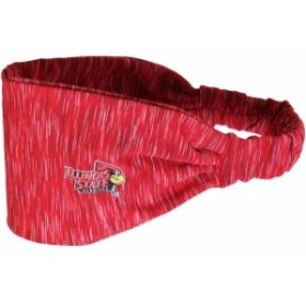 ZooZatz ズーザッツ スポーツ用品  ZooZatz Illinois State Redbirds Womens Heathered Touchdown Headband