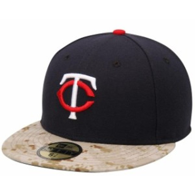 New Era ニュー エラ スポーツ用品  New Era Minnesota Twins Navy 2015 Memorial Day On-Field 59FIFTY Fitted Hat