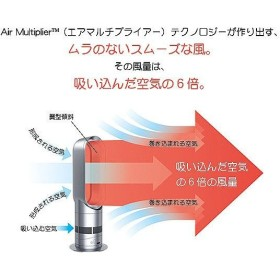 メーカー再生品 修理完了品 Dyson hot+cool AM05 ダイソン ホットアンドクール ファンヒーター ブラック/ニッケル|直輸入品