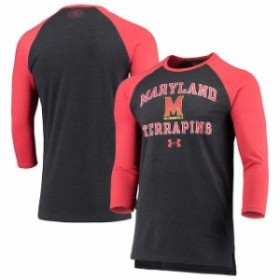 Under Armour アンダー アーマー スポーツ用品  Under Armour Maryland Terrapins Black/Red Freestyle Tri-Blend Half Sl