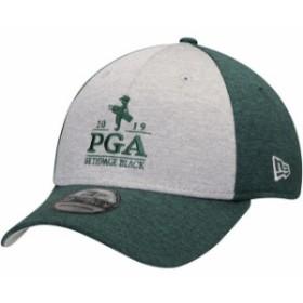 New Era ニュー エラ スポーツ用品  New Era Heathered Gray/Hunter Green 2019 PGA Championship Shaded Classic 39THIRTY F