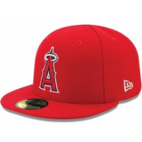 New Era ニュー エラ スポーツ用品  New Era Los Angeles Angels Infant Red MLB Authentic Collection On-Field My First 59
