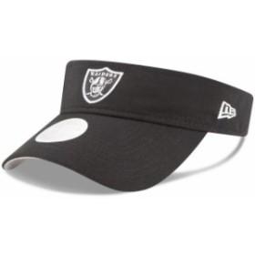 New Era ニュー エラ スポーツ用品  New Era Oakland Raiders Womens Black Essential Visor