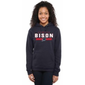 Fanatics Branded ファナティクス ブランド スポーツ用品  Howard Bison Womens Navy Team Strong Pullover Hoodie