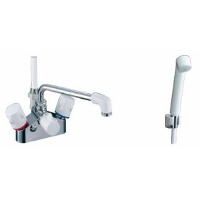 LIXIL(リクシル) INAX 2ハンドルシャワーバス水栓 BF-M616HN