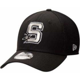 New Era ニュー エラ スポーツ用品  New Era San Antonio Spurs Black Back Half Series 39THIRTY Flex Hat