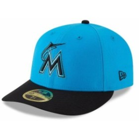 New Era ニュー エラ スポーツ用品  New Era Miami Marlins Blue/Black 2018 Players Weekend Low Profile 59FIFTY Fitted Ha