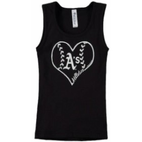 Soft as a Grape ソフト アズ ア グレープ スポーツ用品  Soft as a Grape Oakland Athletics Girls Youth Black Cotton