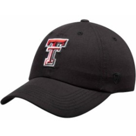Top of the World トップ オブ ザ ワールド スポーツ用品  Top of the World Texas Tech Red Raiders Black Primary Log