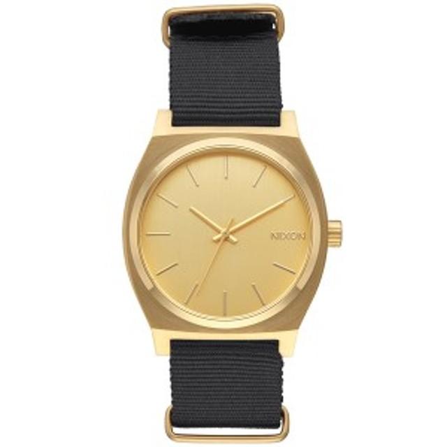 41f21c3551 ニクソン NIXON タイムテラー TIME TELLER 腕時計 メンズ/レディース ゴールド/ブラック NA045513-00