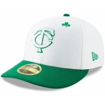 New Era ニュー エラ スポーツ用品 New Era Minnesota Twins White/Kelly Green 2019 St. Patricks Day On-Field Low Profil