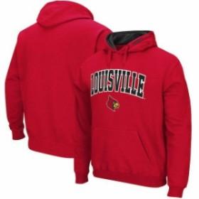 Stadium Athletic スタジアム アスレティック スポーツ用品  Louisville Cardinals Red Big & Tall Arch & Logo Tackl