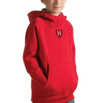 Antigua アンティグア スポーツ用品 Antigua Harvard Crimson Youth Crimson Victory Pullover Hoodie