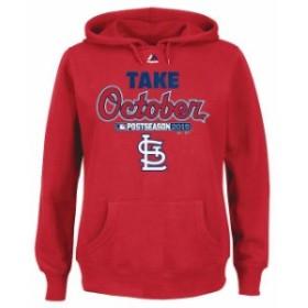 Majestic マジェスティック アウターウェア ジャケット/アウター Majestic St. Louis Cardinals Womens Red 201