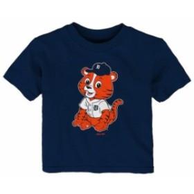 Outerstuff アウタースタッフ スポーツ用品  Detroit Tigers Infant Navy Baby Mascot T-Shirt