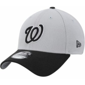 New Era ニュー エラ スポーツ用品  New Era Washington Nationals Gray/Black Team Classic 39THIRTY Flex Hat