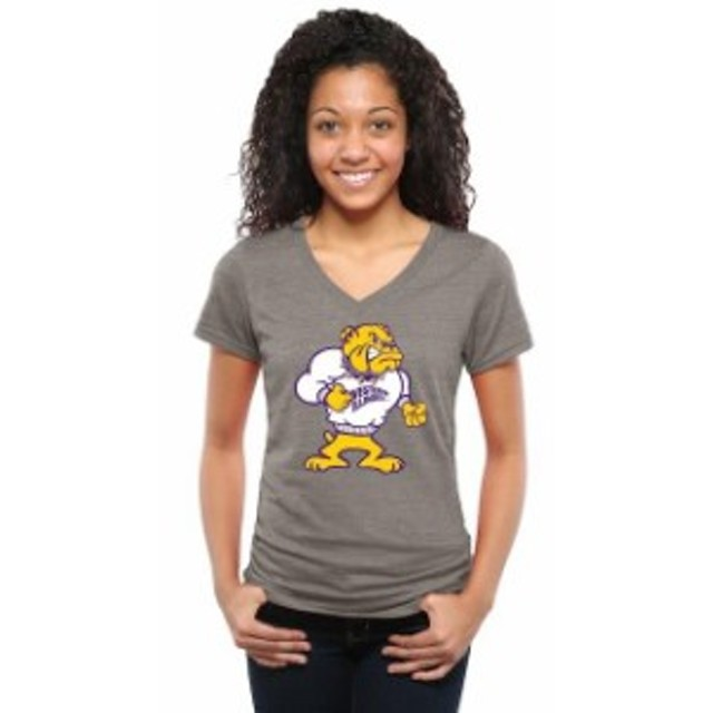 Fanatics Branded ファナティクス ブランド スポーツ用品  Western Illinois Leathernecks Womens Ash Auxiliary Logo