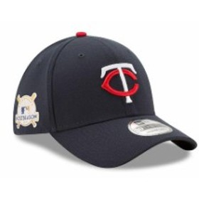 New Era ニュー エラ スポーツ用品  New Era Minnesota Twins Navy 2017 Postseason Side Patch 39THIRTY Flex Hat