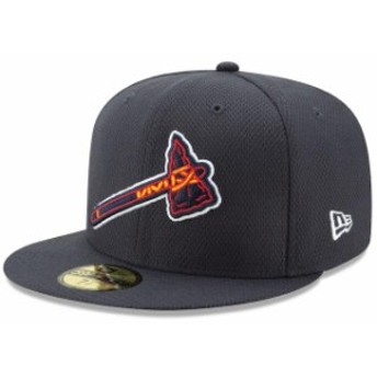 New Era ニュー エラ スポーツ用品 New Era Atlanta Braves Navy Tomahawk Diamond Era 59FIFTY Fitted Hat