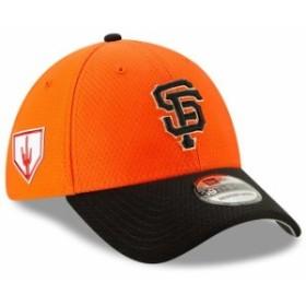 New Era ニュー エラ スポーツ用品  New Era San Francisco Giants Orange/Black Home 2019 Spring Training 39THIRTY Flex H