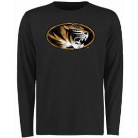 Fanatics Branded ファナティクス ブランド スポーツ用品  Missouri Tigers Black Big & Tall Classic Primary Long Sl