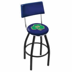 Holland Bar Stool Co........... Notre Dame Fighting Irish Logo Neon Wall Clock