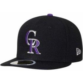 New Era ニュー エラ スポーツ用品  New Era Colorado Rockies Youth Black Authentic Collection On-Field Game 59FIFTY Fit