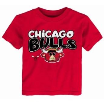 Outerstuff アウタースタッフ スポーツ用品 Chicago Bulls Preschool & Toddler Red Bubble Letter T-Shirt