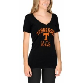 New Agenda ニュー アジェンダ スポーツ用品  New Agenda Tennessee Volunteers Womens Black Fanciful V-Neck T-Shirt