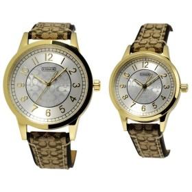cda5b0427e30 コーチ COACH 14000043 ペアウオッチ ニュー クラシック シグネチャー 腕時計 メンズ レディース ユニセックス ポイント消化