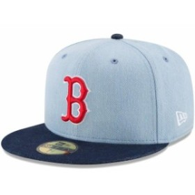 New Era ニュー エラ スポーツ用品  New Era Boston Red Sox Denim/Navy Levis Two-Tone 59FIFTY Fitted Hat